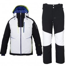 [19-20 피닉스 스키복] PHENIX DemoTeam JACKET(WT1)+PANTS(BK1)